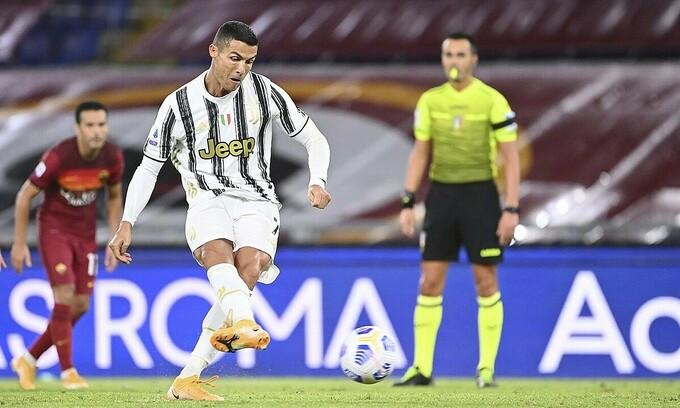 Ronaldo sút phạt đền gỡ hòa 1-1 |VUA-THE-THAO