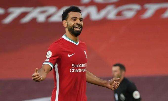 Salah ghi hat-trick ngay trận ra quân ở mùa giải mới |JP88