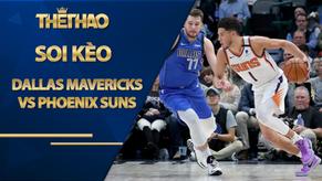 Kèo bóng rổ – Dallas Mavericks vs Phoenix Suns – 9h00 – 31/1/2021