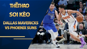 Kèo bóng rổ – Dallas Mavericks vs Phoenix Suns – 9h00 – 31/1/2021