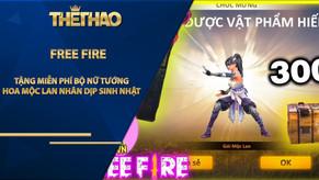 Free Fire: Garena tặng miễn phí bộ Nữ Tướng Hoa Mộc Lan nhân dịp sinh nhật 3 tuổi
