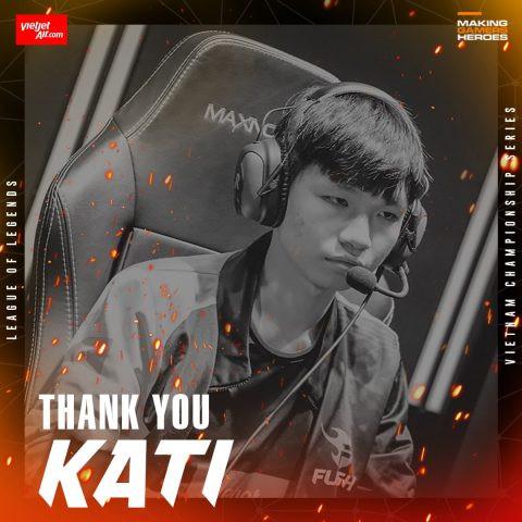 Kati rời Team Flash  VUA-THE-THAO