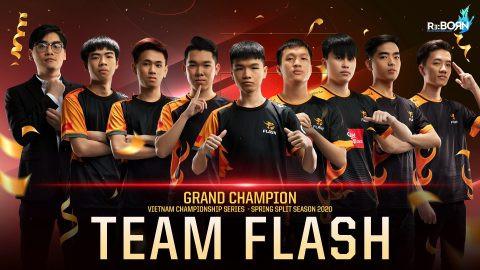 Team Flash đang lấy lại phong độ của nhà Đương Kim Vô Địch |ST666-VN-GAMES