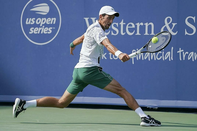 Djokovic sở hữu 17 Grand Slam, kém kỷ lục của Federer ba danh hiệu lớn.  |VUA-THE-THAO