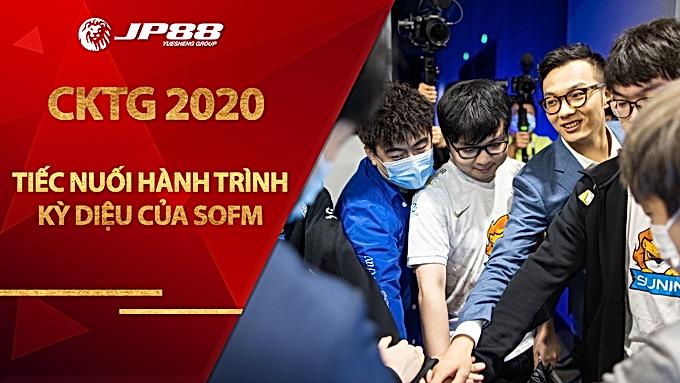 Fan Việt tiếc nuối vì hành trình kỳ diệu của Sofm tại CKTG 2020 đã dừng lại