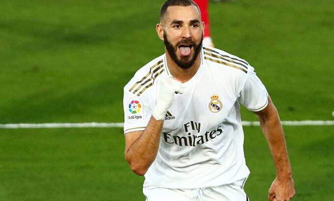 Benzema trở thành cầu thủ ghi bàn hay nhất cho Real sau khi Ronaldo ra đi.  |VUA-THE-THAO
