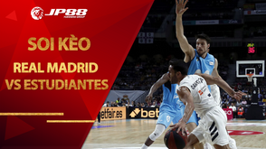 Kèo bóng rổ – Real Madrid vs Movistar Estudiantes – 0h30 – 26/10/2020