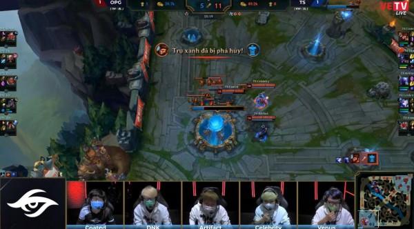 Gam – Team Secret đều giành chiến thắng ngày hôm nay |ST666-VN-GAMES