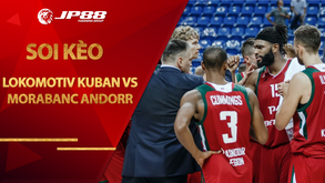 Kèo bóng rổ – Lokomotiv Kuban vs MoraBanc Andorra – 23h30 – 21/10/2020