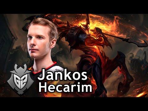Sẽ không quá bất ngờ nếu như Jankos sử dụng Hecarim ở CKTG 2020 sắp tới |JP88