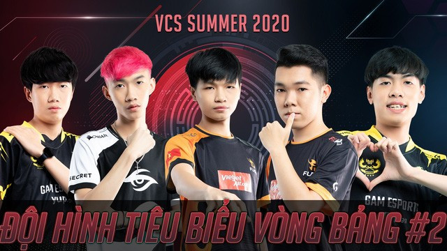Đội hình tiêu biểu số 2 của VCS  VUA-THE-THAO