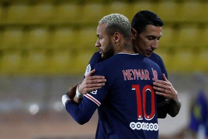 PSG có sự hiện diện của những ngôi sao hàng đầu như Neymar, Di Maria, Mbappe |JP88