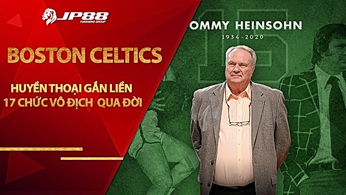 Huyền thoại gắn liền với 17 chức vô địch của Boston Celtics qua đời