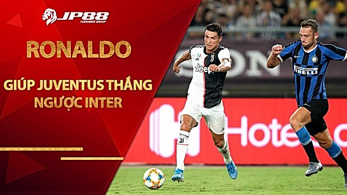Ronaldo giúp Juventus thắng ngược Inter