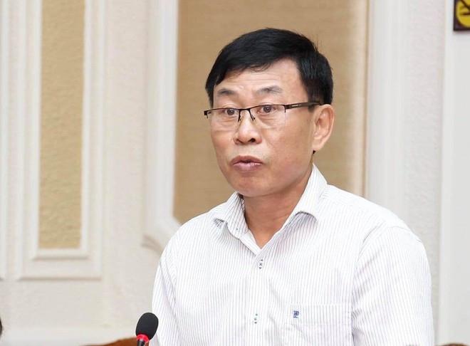 Thượng tá Nguyễn Thế Lâm, Phó trưởng phòng Tham mưu Công an TP.HCM, trả lời tại buổi họp báo  JP88