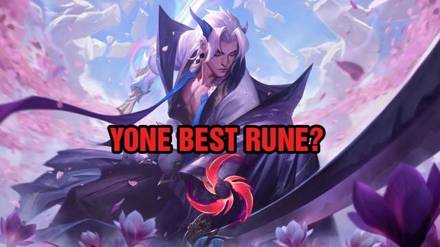 Mưa Kiếm sẽ trở thành điểm ngọc mạnh nhất cho Yone chăng? |VUA-THE-THAO