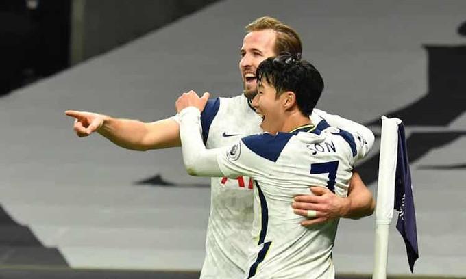 Son và Kane lập công, giúp Tottenham giữ ngôi đầu bảng |JP88