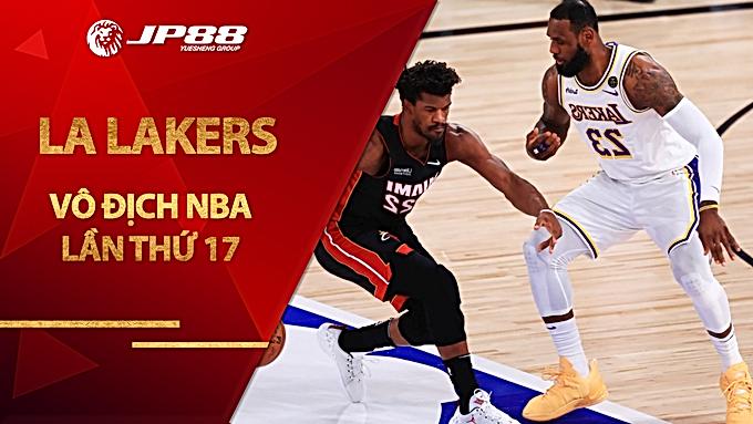 LA Lakers Vô địch NBA lần thứ 17