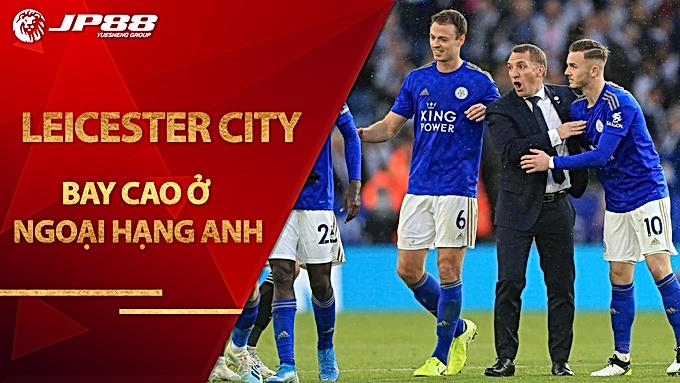 Leicester City bay cao ở Ngoại hạng Anh: Xem Sơn Mykolor quảng bá thương hiệu trên sân King Power