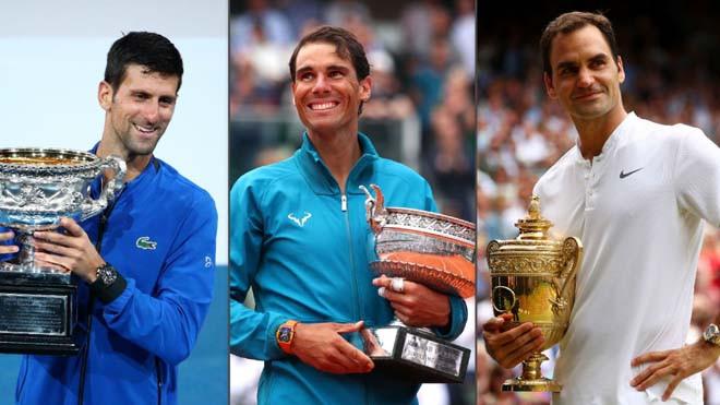Djokovic và Nadal đặt mục tiêu lớn, khiến Federer e ngại  VUA-THE-THAO