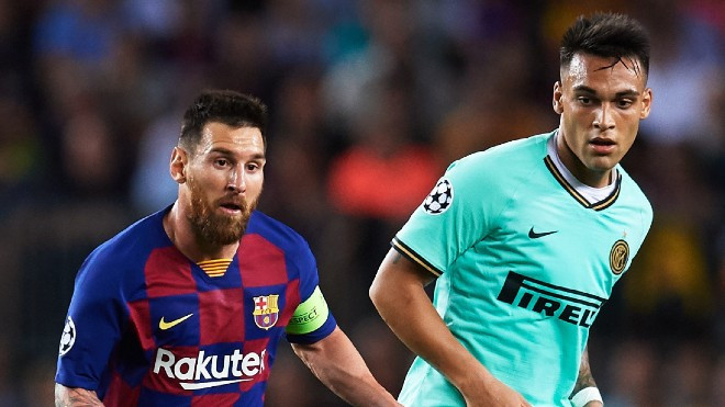 Barcelona muốn Martinez đá cặp với Messi |VUA-THE-THAO