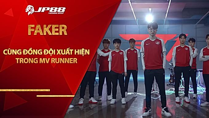 Faker cùng đồng đội T1 xuất hiện trong MV Runner