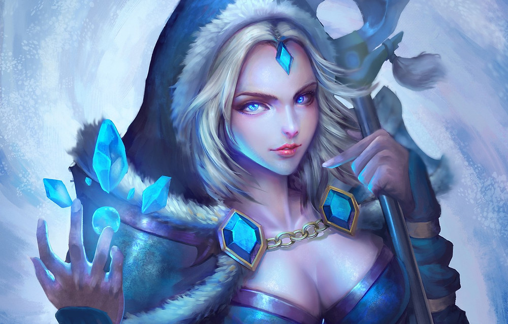 Crystal Maiden |ST666-VN-GAME