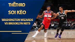 Kèo bóng rổ – Washington Wizards vs Brooklyn Nets – 7h00 – 1/2/2021