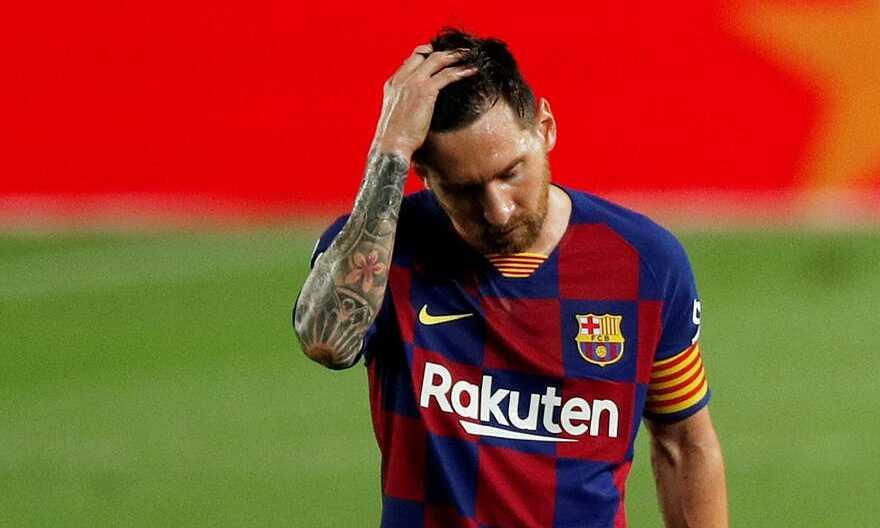 Messi thất vọng thấy rõ ở thảm bại trước Bayern  VUA-THE-THAO