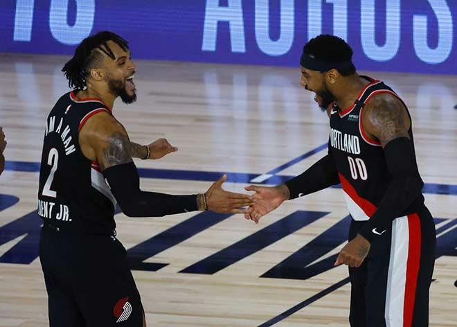 Portland Trail Blazers ngược dòng kịch tính để giật vé dự NBA Playoff 2020 |VUA-THE-THAO