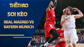Kèo bóng rổ – Real Madrid vs Bayern Munich – 3h00 – 30/10/2020