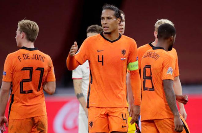 Đội trưởng Van Dijk vẫn là chỗ dựa vững chắc nơi hàng phòng ngự Hà Lan |VUA-THE-THAO