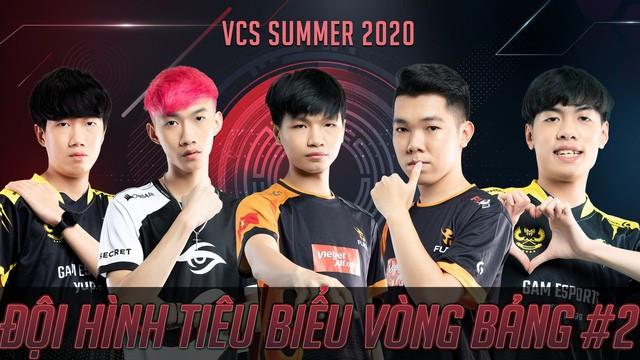 Đội hình tiêu biểu số 2 của VCS |ST666-VN-GAMES