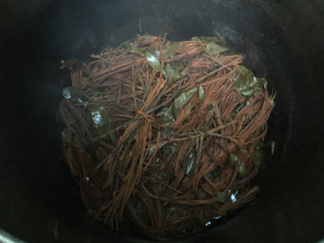 Making the sacred brew