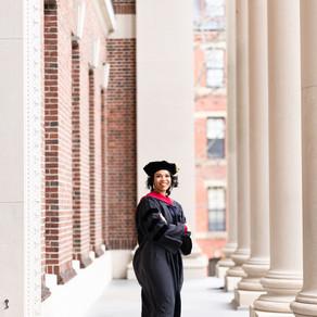 Sunrise Harvard Law School graduation session