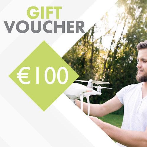 €100 FlyRyte Drone Academy Gift Voucher