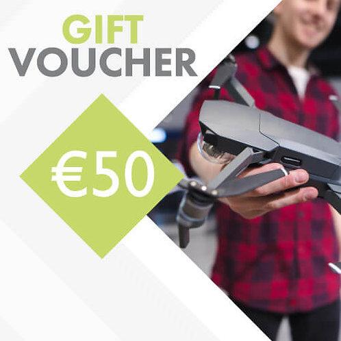 €50 FlyRyte Drone Academy Gift Voucher