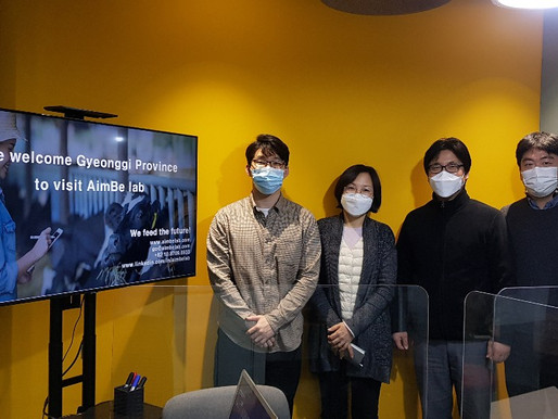 Gyeonggi Province, actively supporting AimBe lab Inc.