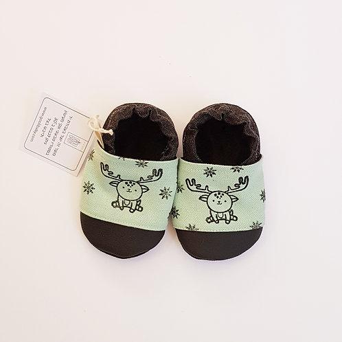 נעלי איילים טורקיז | נעלי טרום הליכה