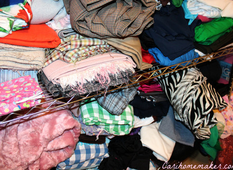 Too much stuff in your stash????