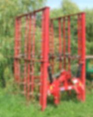Weaving stubble, grass rake for hire