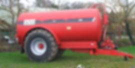 hi spec slurry tanker for hire