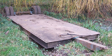 Low loader trailer for hire