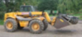 JCB loader for hire