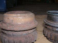 ECE muck spreader auger drive gear