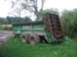 15 ton muck spreader for hire