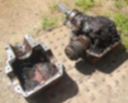 ECE manure spreader spinner gearbox