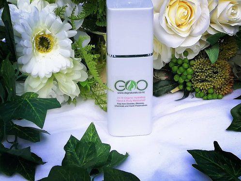 24 Hr Organic Hydrating Hand and Body Moisturiser