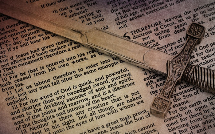 The Sword of the Spirit - the Word of God