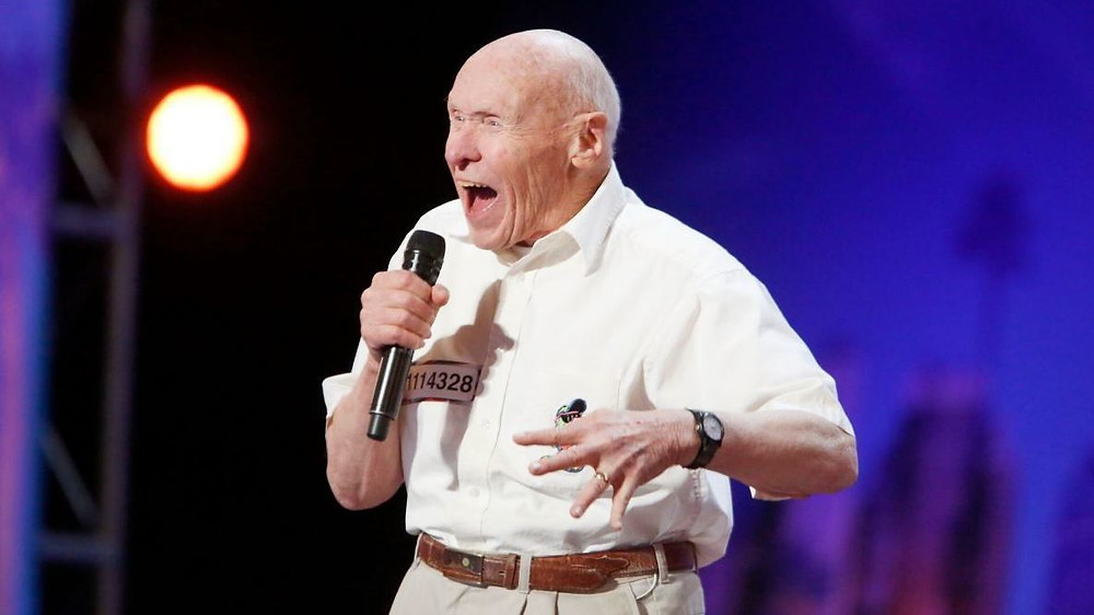 Even this old guy likes to sing!